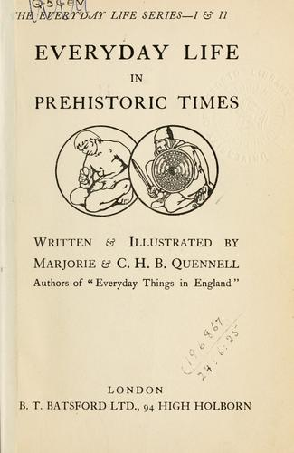 Image https://openlibrary.org/books/OL7052503M/Everyday_life_in_prehistoric_times.