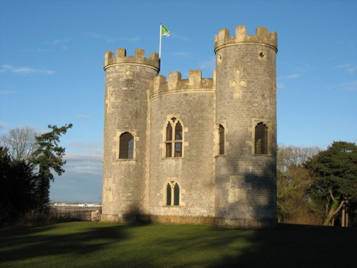 HARN Towers aka Blaise Castle. Copyright Paul Brooker http://www.geograph.org.uk/photo/1762286