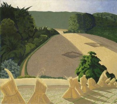 John Nash The Cornfield, 1918 http://www.mutualart.com/Artwork/The-Cornfield/015557DB529B9DF9