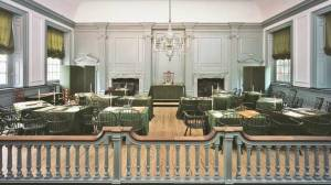 Assembly Room, Independence Hall.  Or, where all the important documents were signed.