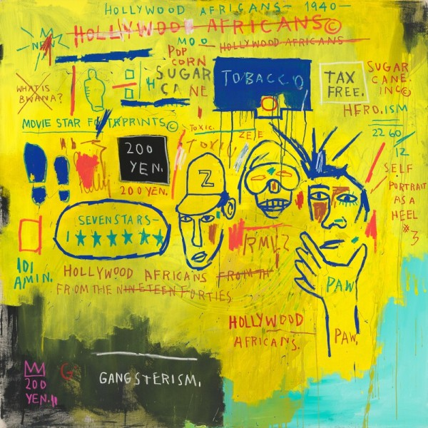 Basquiat, Hollywood Africans
