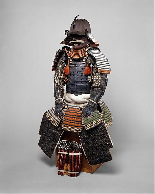 Gusoku armor, 18th century Japan. Image courtesy Met Museum website.