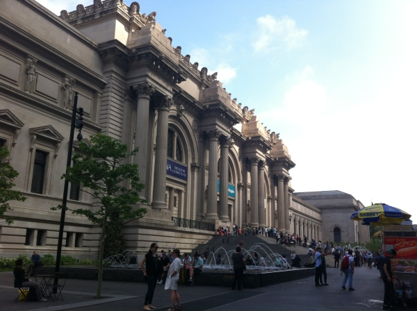 The Met--but not the whole front.