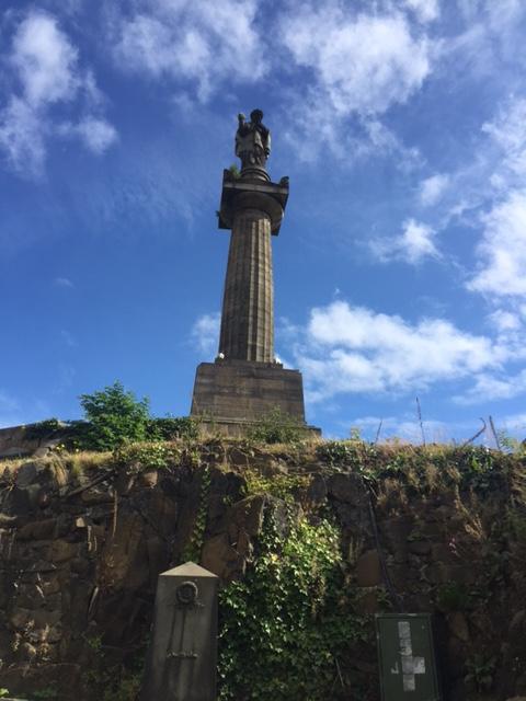John Knox monument, Necropolis, Glasgow. Picture by Kate