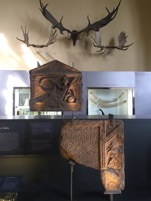 Roman objects with natural collections in the background. This captures the essence of the collection. Picture by Kate