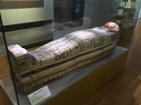 Egyptian Mummy. Picture by Kate