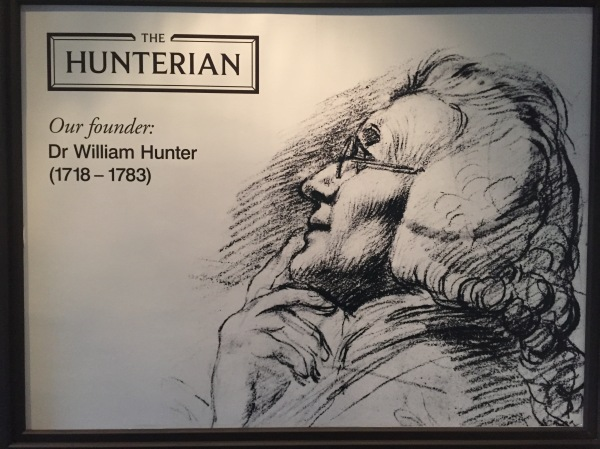 Welcome to the Hunterian! Picture by Kate