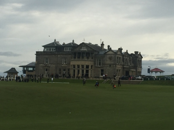 Club House at the Links, St. Andrews. Picture by Kate