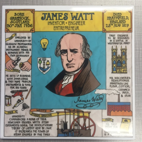 James Watt Coaster. Picture by Kate