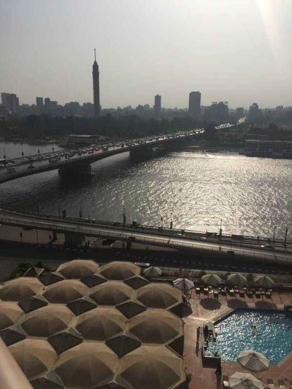 The Nile, Cairo Tower, 6th October Bridge