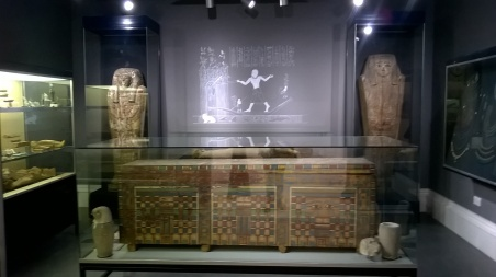 Egyptian Gallery - Garstang Museum. Photo by Julia