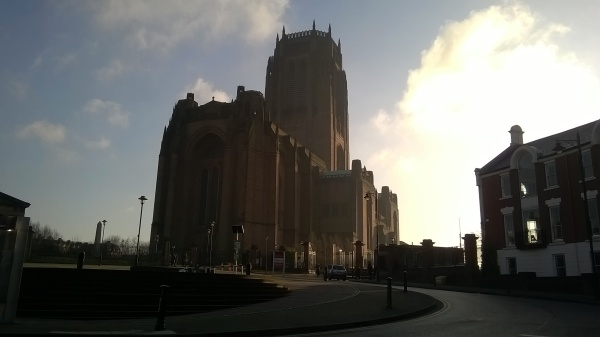 Liverpool Cathedral, designed by Giles Gilbert Scott, photo by Julia