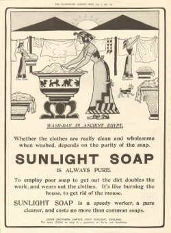 sunlight soap - washday in ancient egypt 001 - 1906