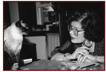 Elizabeth Peters and another cat - hey, I like cats - photo by