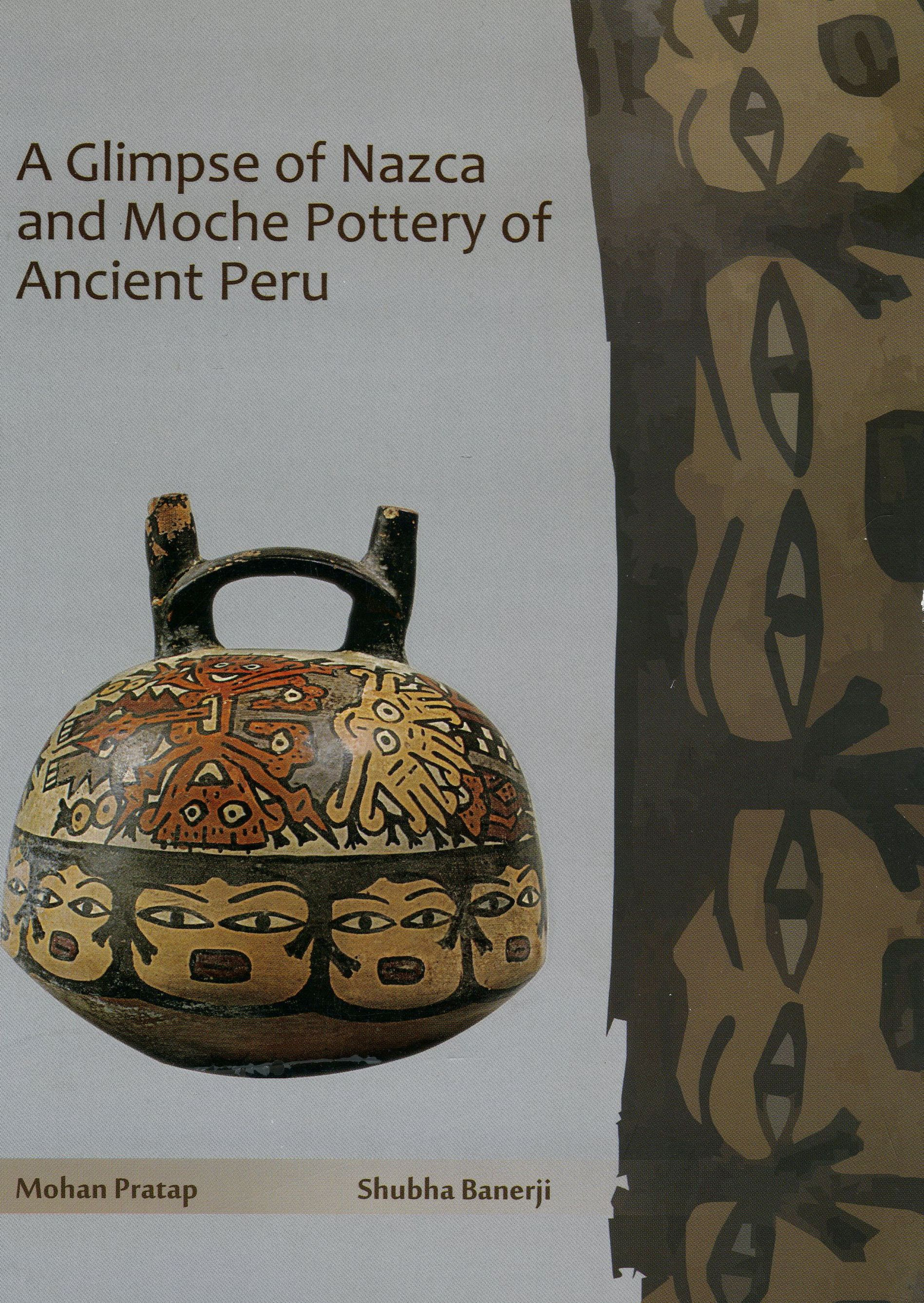 Figure 5 publication on Nazca pottery in the National Museum, Delhi