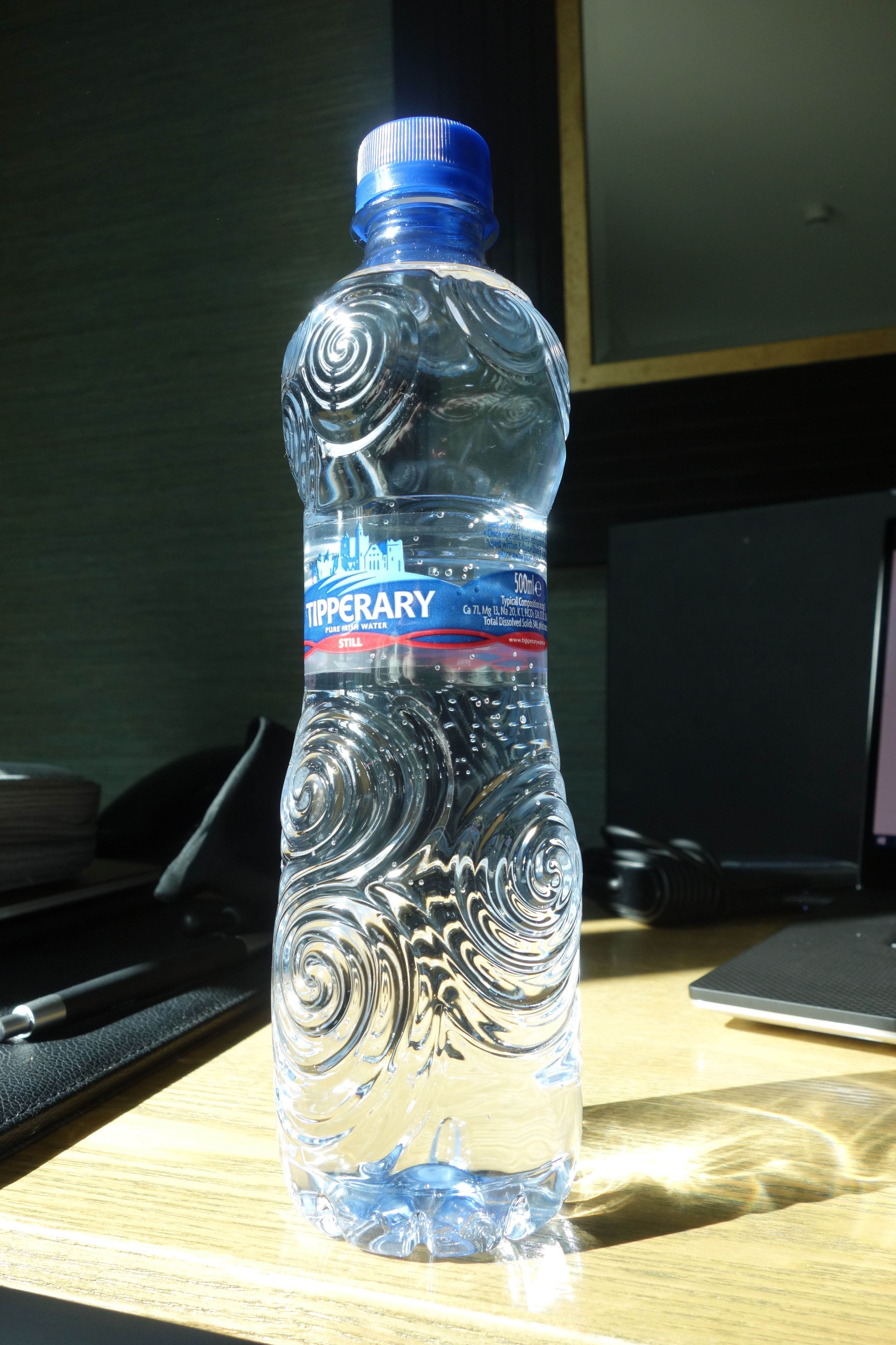 Figure 2. New Grange symbol on bottle